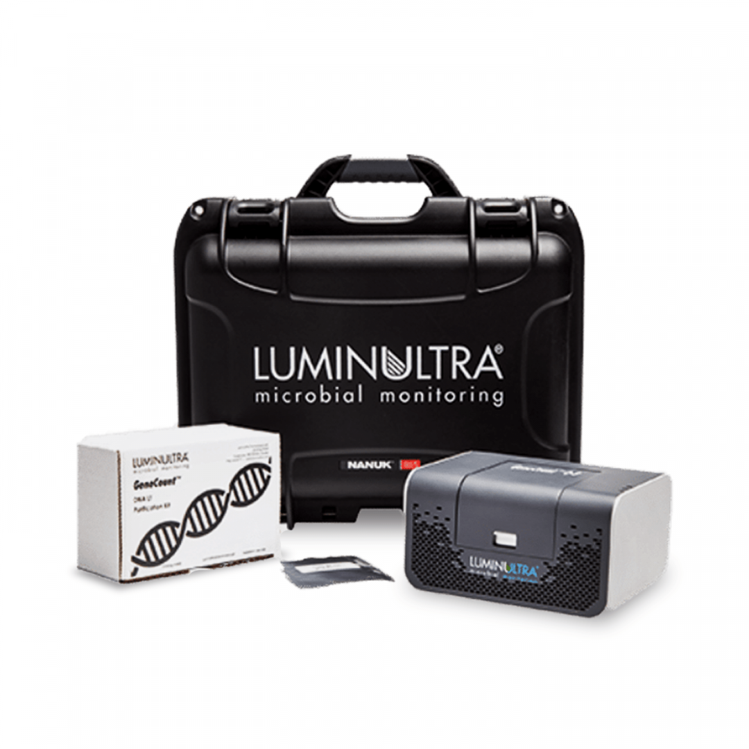 LuminUltra GeneCount Set-Up